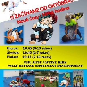 Nové tréningy Active Kids