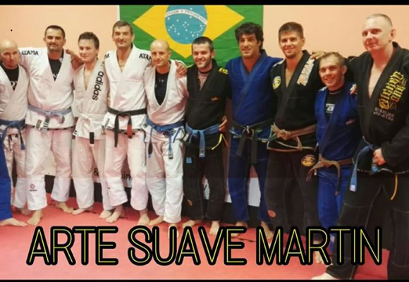 Účasť na seminári BJJ s Andre Monteiro